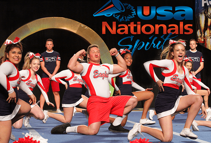 ALA National Cheer Competition in Las Vegas, 9th Place.