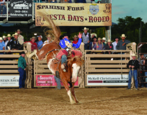 The Spanish Fork Fiesta Days Rodeo will be inducted into the ProRodeo Hall of Fame this August. It is the first rodeo in Utah to receive this recognition. - Photo by Greg Westfall