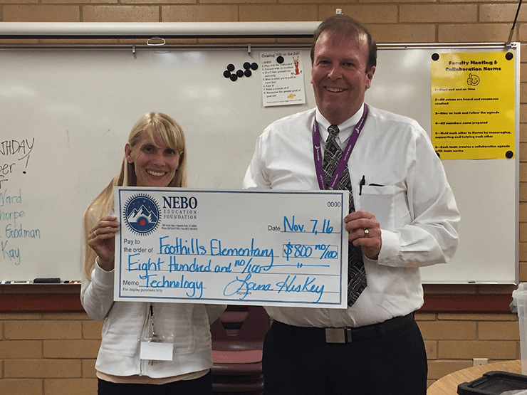 Foothills Elementary: Amy Russell & Scott Barlow