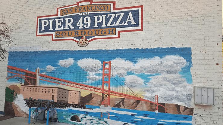 Pier 49 Mural