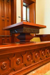 Temple pulpit