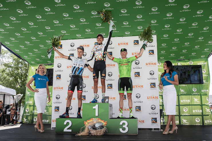 Larry H. Miller Tour of Utah - Stage 3 - Richfield on August 3, 2016 in Richfield, Utah. (Photo by Jonathan Devich/Getty Images)