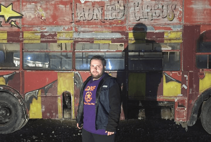 Devin Mullins spent a night with his family at the Haunted Circus and Zombie Hunt.