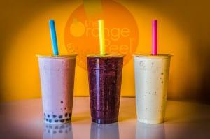 Delicious drinks at Orange Peel in Springviille.
